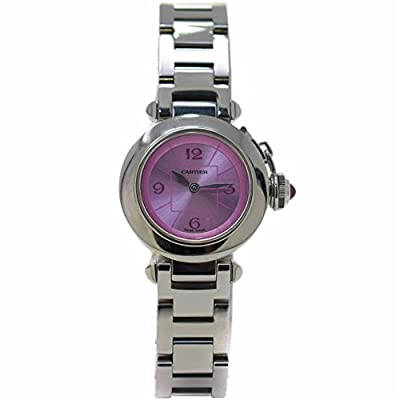 Cartier Pasha Swiss-Quartz Female Watch W3140008 (Certified Pre-Owned) by Cartier