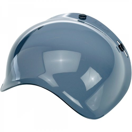 Biltwell Inc. Bubble Shield Smoke One (Mirror Smoke Helmet Shield)