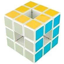 Qiyun White 3x3x3 Void Puzzle Speed Cube
