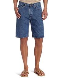 Lee Men\'s Regular Fit Denim Short, Pepper Stone, 36