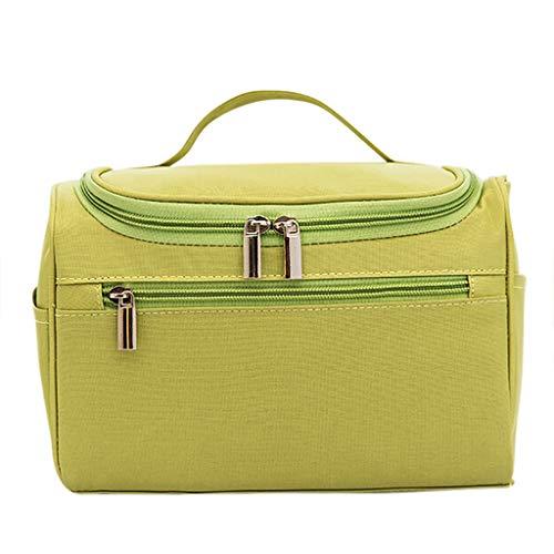 Ktyssp Simple Large-Capacity Travel Wash Bag Storage Bag Cosmetic Bag Travel Bag (Green)