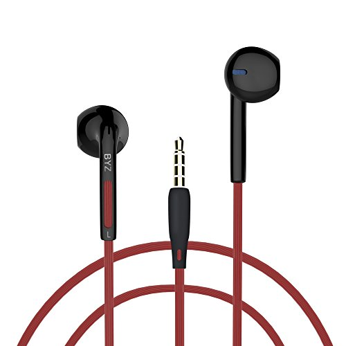 Stereo Line Ear Hooks (Mxditect In Ear Headphones, iPhone Earphones with microphone Stereo Earbuds Perfect for Sports)