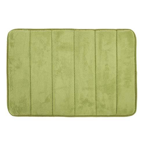 (dongzhifeng Rug Rugs Welcome Mat Door Mats Inside Mats Indoor Heavy Duty Mat Mat Non-Slip Absorbent Carpet Kitchen Mat Tapete Carpet Porch Mat 4060cm Green)