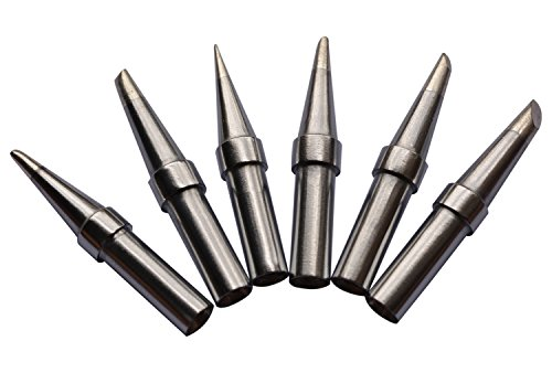 baitaihem 6 pcs replacement et soldering iron tip set for weller wesd51wes50 ebay. Black Bedroom Furniture Sets. Home Design Ideas