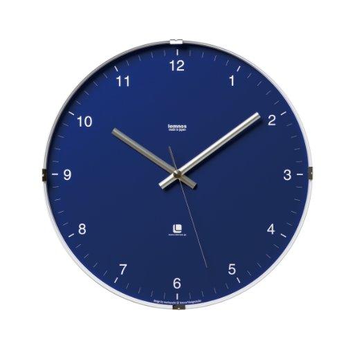 Lemnos North clock Blue T1-0117 BU