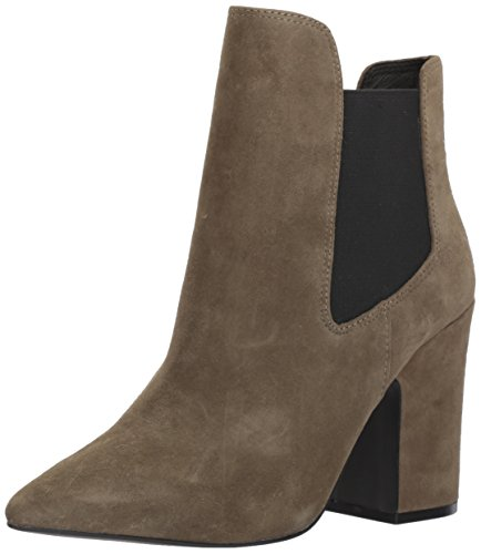 Chinese Laundry Kristin Cavallari Womens Starlight Ankle Bootie  Olive Suede  9 5 M Us