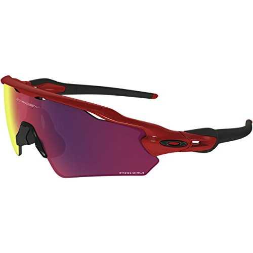 Oakley Men's Radar Ev Path (a) Non-Polarized Iridium Rectangular Sunglasses, Redline, 35 (Oakley Womens Radar)