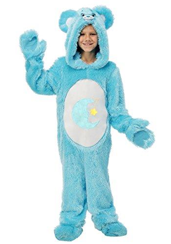 [Care Bears Child Classic Bed Time Bear Costume Medium] (Care Bear Costume Kids)