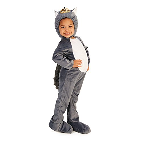 Grey Squirrel Toddler Dress Up Costume 2-4T