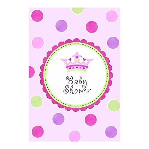 Little Princess Baby Shower Invitations With Envelopes - 8 - Shower Princess Invitations Baby
