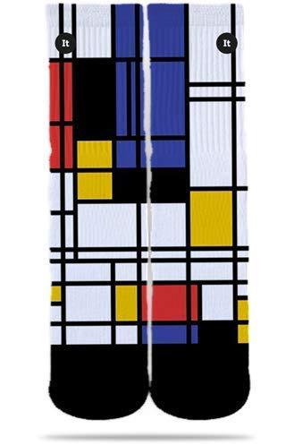 Meia ItSox Mondrian 38 43