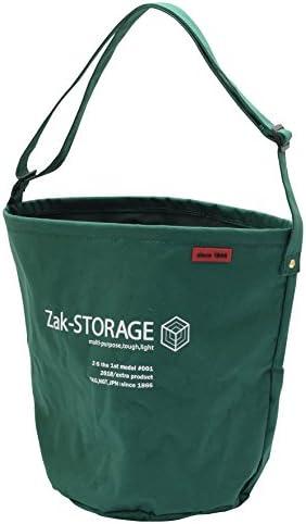 [スポンサー プロダクト]高儀 Zak-STORAGE バスケット クロスバケット 丸 グリーン L 幅285×高さ355×底面φ260mm CBC-100LG