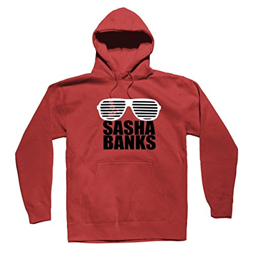 Sasha Savage WWE Divas Sasha Banks Unisex Printed Custom Hoodies Sweater by I Dethrone