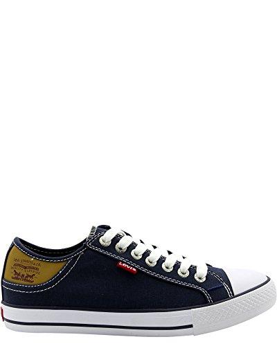 Levi's Men's Stan Buck Navy/Brown Casual Shoe 8.5 Men US