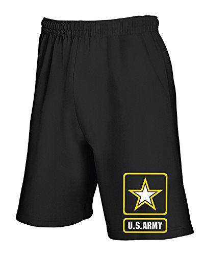 Armylogo Tuta Pantaloncini T Nero shirtshock Tm0418 WXxSv