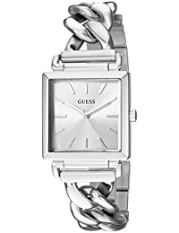 GUESS Women's Quartz Stainless Steel Casual Watch, Color:Silver-Toned (Model: U1029L1)
