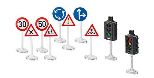 Siku 5597 - Ampeln mit Verkehrsschildern