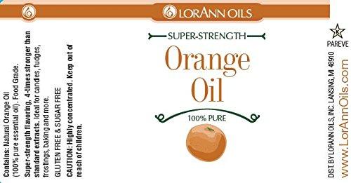 LorAnn Super-Strength Orange Oil - Natural - 4 oz