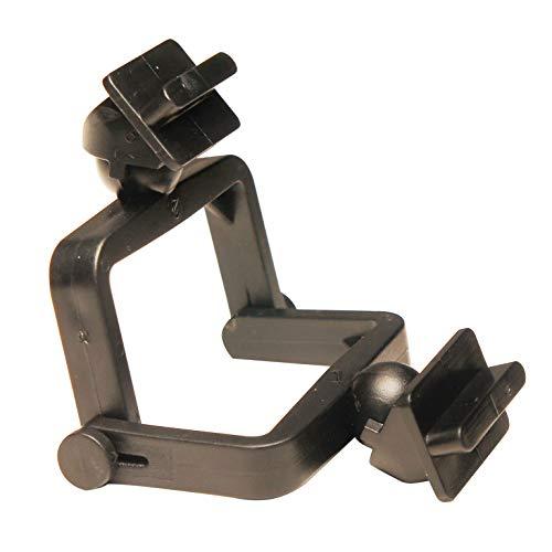 Dental Creations EZ Disposable Articulators - Light Weight, Heavy Duty, Slotted, Black Plastic - Dental Laboratory Articulators - 100 Pieces by DENTAL CREATIONS LTD.