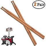 Drum sticks 5B Natural Bamboo Drumsticks (5B-Bamboo-2pair)