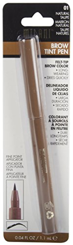 Milani Brow Tint Pen, Natural Taupe, 0.04 Fluid Ounce