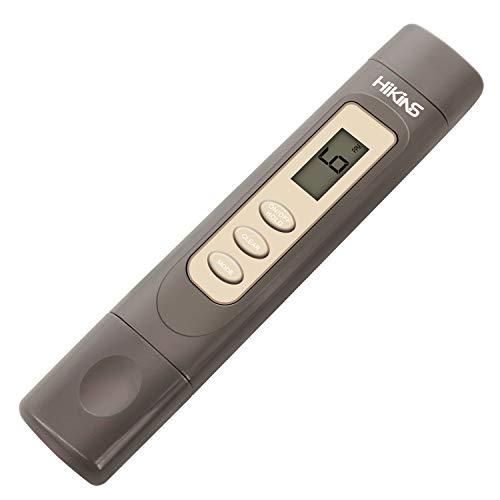 HiKiNS TDS Meter Digital Drinking Water Quality Tester & Temperature Meter Smart Portable Cute 0~9990ppm Testing Range for Aquariums etc