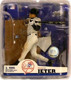 Derek Jeter Merchandise - McFarlane MLB Series 22:Derek Jeter 4 - New York Yankees