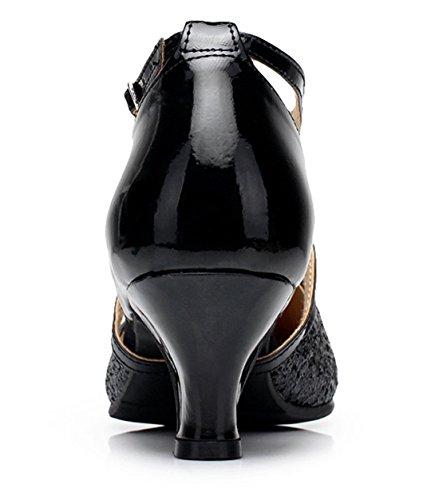 Black Damen Joymod MGM Heel Jazz Modern 5cm amp; Style1 ZAYFxqw