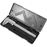 "Práctico Vernier Caliper 6"""" 0-150mm / 0.02mm Metal"