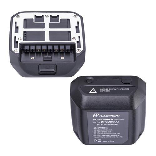 Flashpoint Battery Power Pack Unit for The XPLOR 600 Series Monolight (WB87)