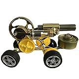 LVPY Stirling Engine Kit, Mini Stirling Engine Motor Steam Heat Education Model Toy DIY Kits