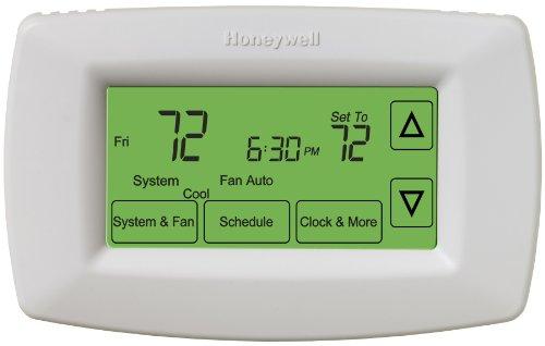 Honeywell RET97C0D1005U 7-Day Touchscreen Programmable Thermostat
