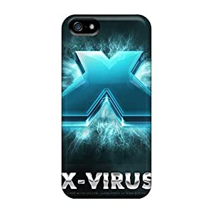 Anti-scratch And Shatterproof X Virus Phone Cases For Iphone 5/5s/ High Quality Cases