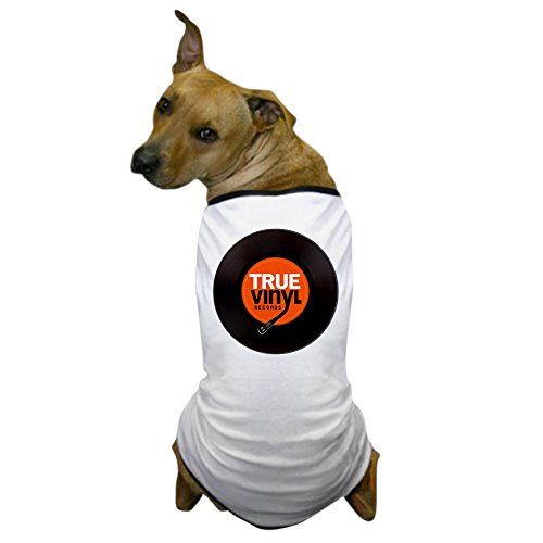 CafePress - True Vinyl Records | Dog T-Shirt - Dog T-Shirt, Pet Clothing, Funny Dog Costume