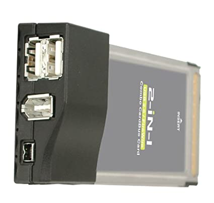 IOGear USB 2.0/FireWire Combo CardBus Card GUF202 Drivers for Windows Download