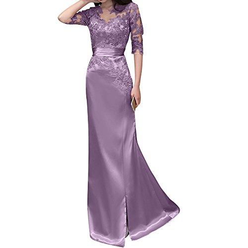 Spitze Rosa Abendkleider Brautjungfernkleider Ballkleider Etuikleider Damen Neu Charmant Flieder Langes xg6qEI5Z6w