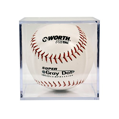Softball Square Display Case Cube Holder