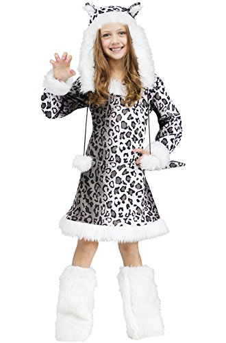 Snow Leopard Kids Costume, Large (12-14)]()