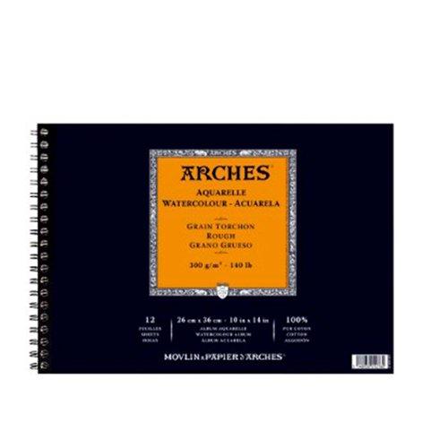 Álbum Arches Acuarela Grueso 26 x 36 cm. by Canson