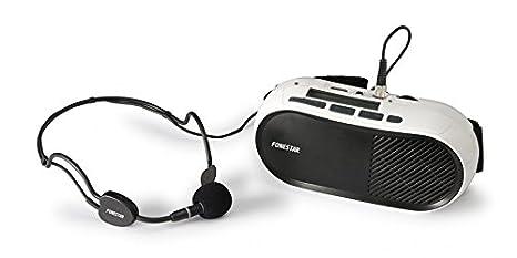 Fonestar FAP-12GU Alámbrico Negro, Blanco - Amplificador de Audio ...