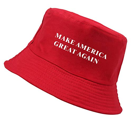 - canghai Donald Trump Embroidered Hat Republican Make America to Great Again US Election Cap Summer Fisherman Cap Sun Cap(RD2)