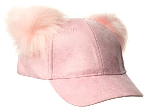 The Children's Place Toddler Girls' Pom Hat, Serene Blush 86448, L/XL(8+Yr)
