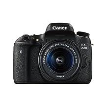 Canon EOS 760D/T6s DSLR Camera with EF-S 18-55mm f/3.5-5.6 IS STM Lens