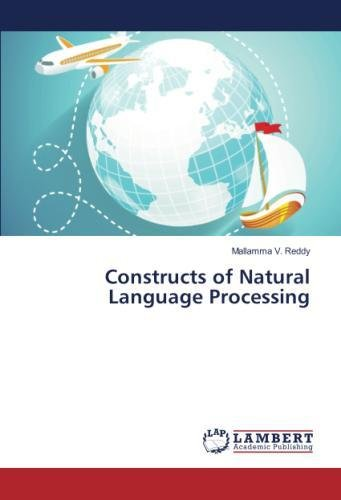 Constructs of Natural Language Processing by LAP LAMBERT Academic Publishing