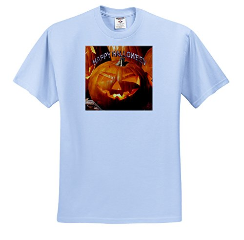 Halloween - Happy Halloween - T-Shirts - Youth Light-Blue-T-Shirt Small(6-8) (ts_2836_60) for $<!--$15.95-->