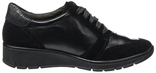 Jana Dame 23701 Sneaker Zwart (black)