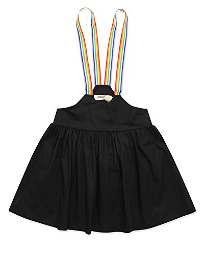Price comparison product image VYU Little Girl Summer Casual Dress 3-9 Year Old Girls Black Dress
