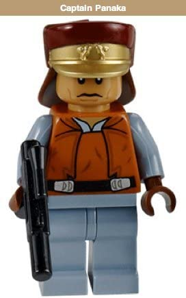 Captain Panaka - Lego Star Wars Minifigure