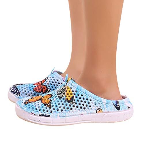 Water Sandal Quick-Drying Garden Clogs Mules Breathable Slippers Beach Non-Slip Sandals for Women Men