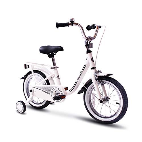 COEWSKE Kid's Bike Steel Frame Children Bicycle 14-16 Inch w